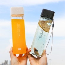 Get more info on the Kettle 500ML plastic water dispenser travel outdoor sports school leakproof seal fashion portable mountaineering kettle cute cup
