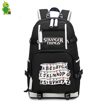 Mochila Stranger Things Backpack Women's Bag Men's Laptop Backpack School Bags for Teenagers Boys Girls's Backpack Travel Bags 1