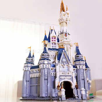 16008 külkedisi prenses kalesi şehir modeli 4080 adet yapı taşı çocuk oyuncakları çocuk hediye film 71040