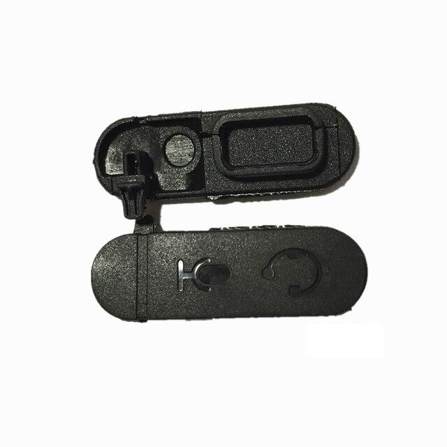 5 sztuk nowy zestaw słuchawkowy kurz slajdów pokrywa dla Motorola XIR P3688 DEP450 DP1400 CP200d dwukierunkowe Radio Walkie Talkie akcesoria