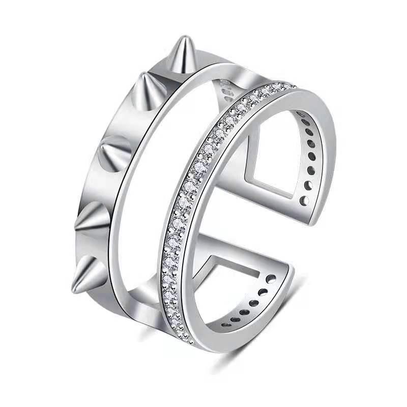 inoxidavel moda lobo anel produtos de protecao sobrevivencia 05
