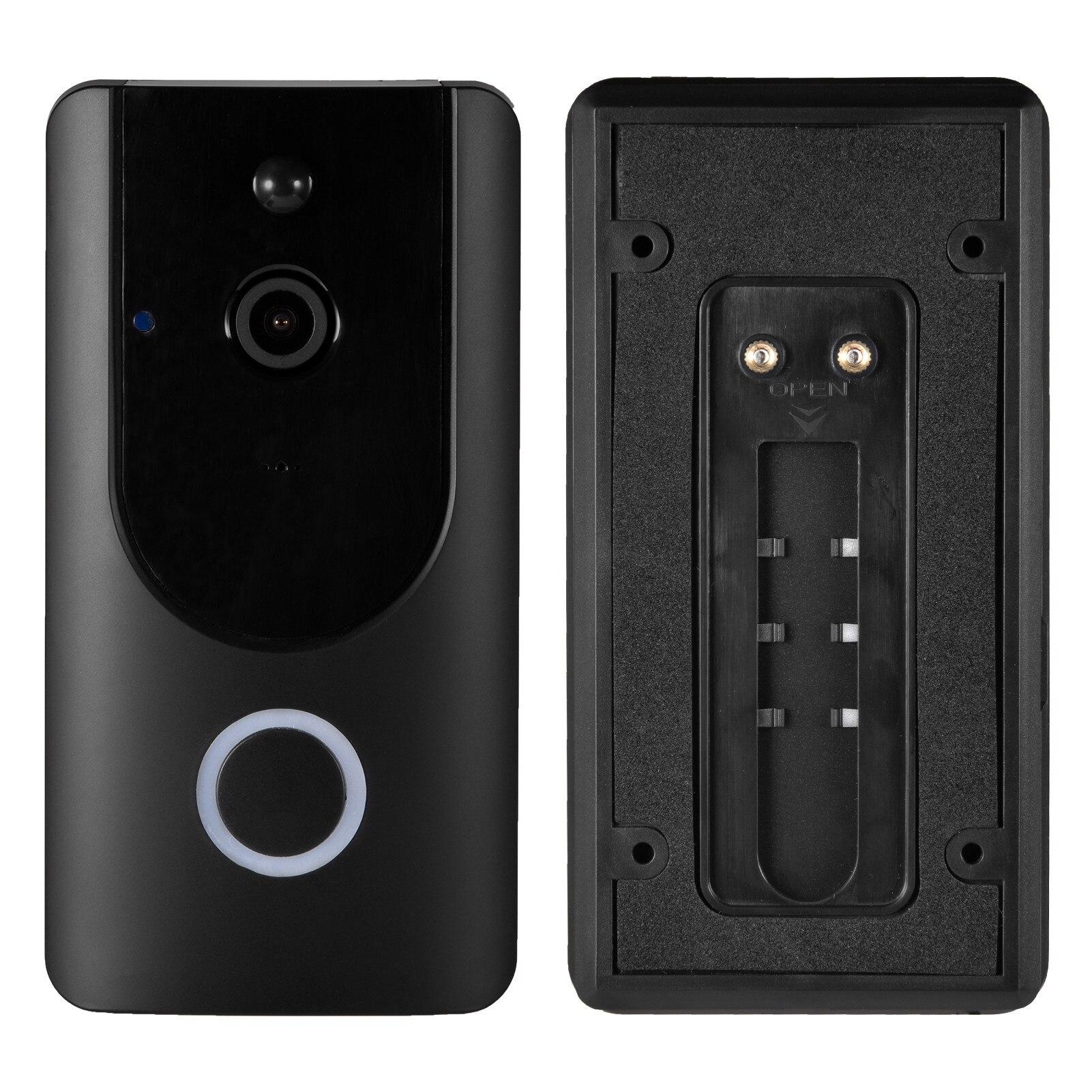 2021 HD Video Intercom Home Doorbell Smart Wireless Door Monitoring System Security Alarm Type Equipment 1080P APP Remote Record