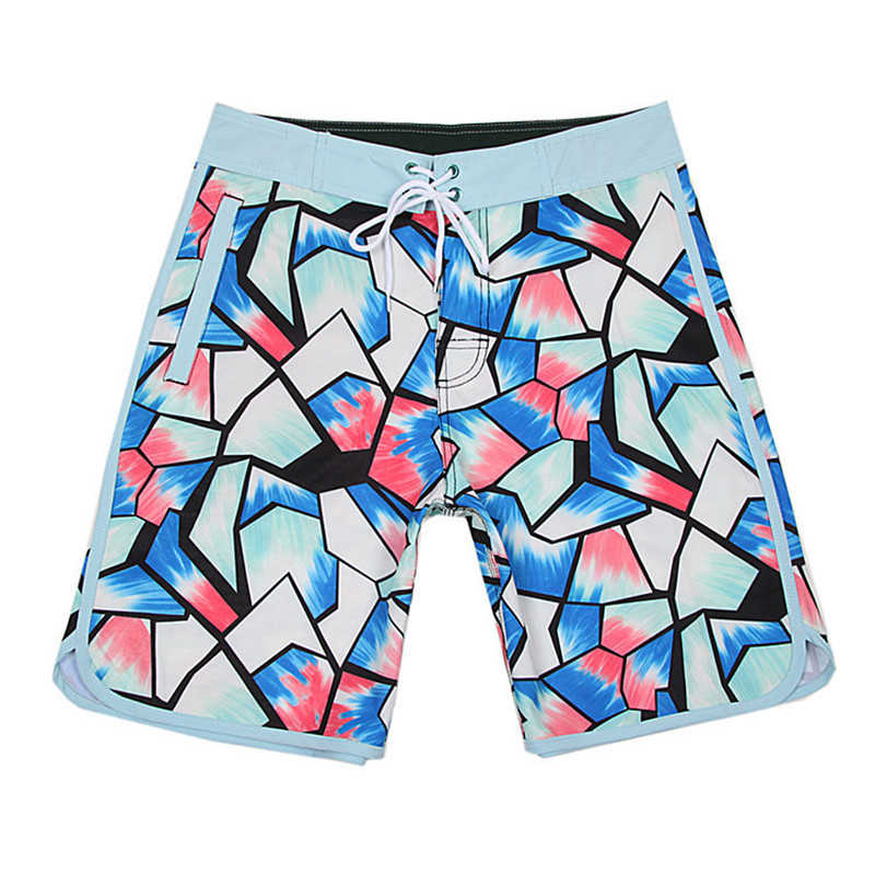 2019 Новая летняя брендовая водонепроницаемая доска шорты быстросохнущие мужские спандекс шорты спортивные пляжные шорты для серфинга