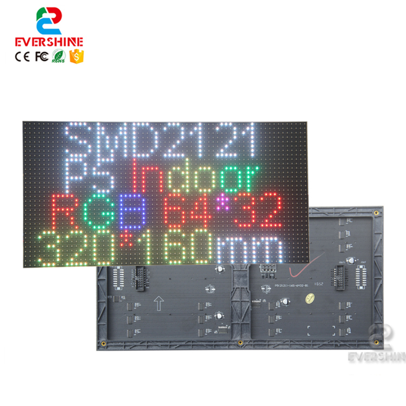 Cheapest Price P5 Indoor Full Color Smd 2121 320x160mm 1/16s Led Module
