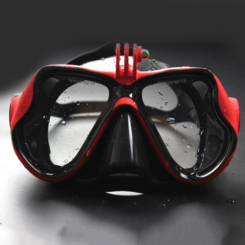 Snorkeling Mask Snorkel Tube Set Diving Mask Anti-Fog Swimming Diving Goggles Snorkel Tube For GoPro Underwater Sports Camera 7
