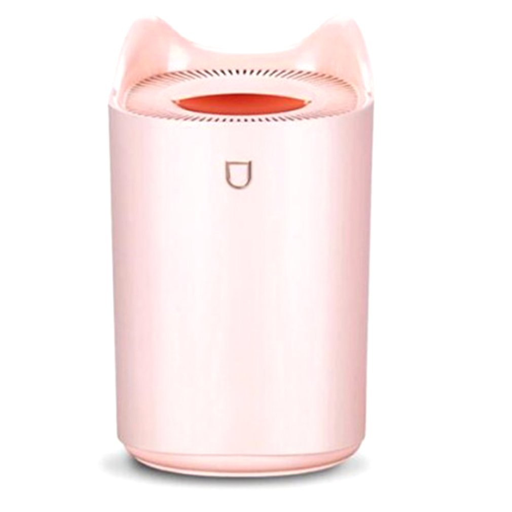 Hot 3L Double Nozzle Humidifier Usb Large Capacity Household Silent Bedroom Office Air Humidification Heavy Fog