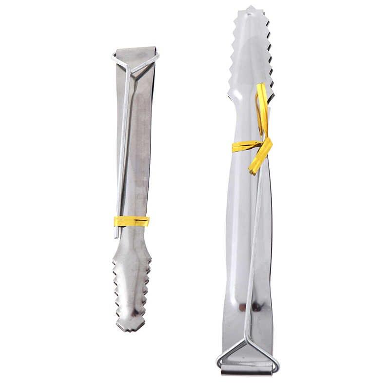 Pinças de aço inoxidável multifuncional hookah pinças chicha shishia acessórios gadgets para pinças de carvão