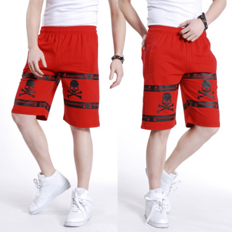 Free Shipping Plus Size Men's Hip Hop Casual Shorts Mens Summer Shorts Military Shorts Elastic Waist Short Trousers