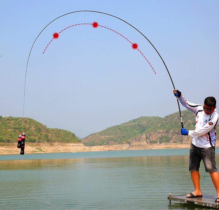 Oltas Posicionamento De Fibra de Carbono mão De Pesca Peche