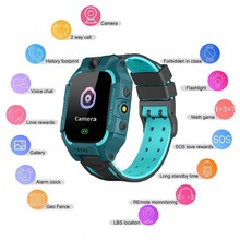 Z6 Children Smart Watch Kid Watches GPS Tracker Camera SOS Call Reminder Anwser Dail Call Smartwatch For IOS Android Bracelet sograce smart watches smartwatch gps smart watch for children smart watch call reminder girl boy on wrist android watch phone