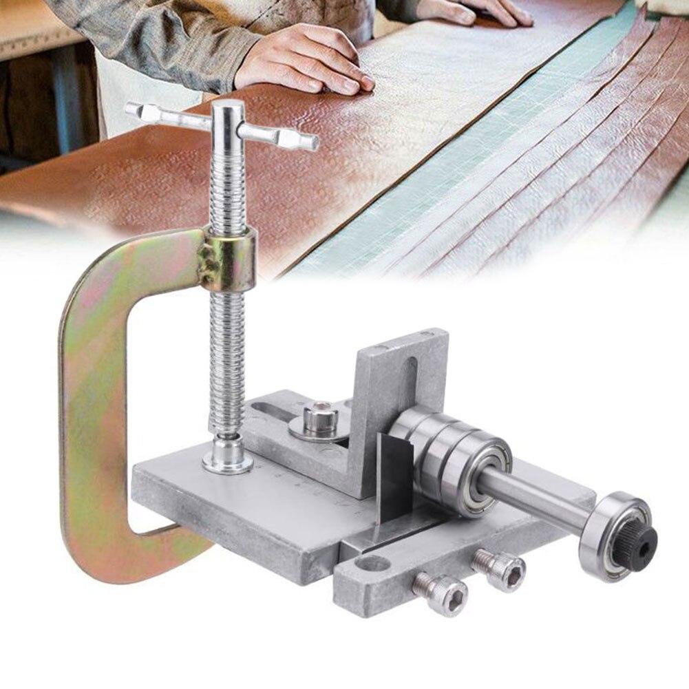 Алюминиевый ручной ленточный сплиттер для ремней DIY ремесла швейная машина инструмент для очистки овощей домашний кожаный ремень резак Skiver Профессиональный регулируемый