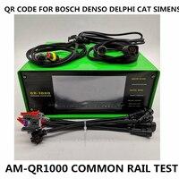 BOSCH DENSO DELPHI VDO 용 AM-QR1000 커먼 레일 인젝터 QR 코드 쿼리 테스터 시스템은 자동으로 QR 전원 코드를 생성 할 수 있습니다
