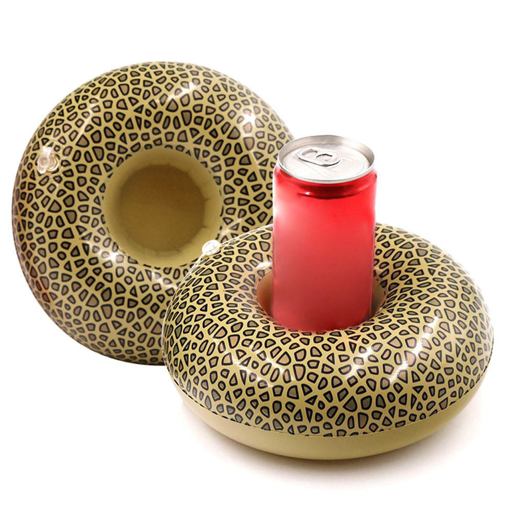 Inflatable Cup Holder Fruit Cup Float Pool Party Beer Coaster Float Cups Seat