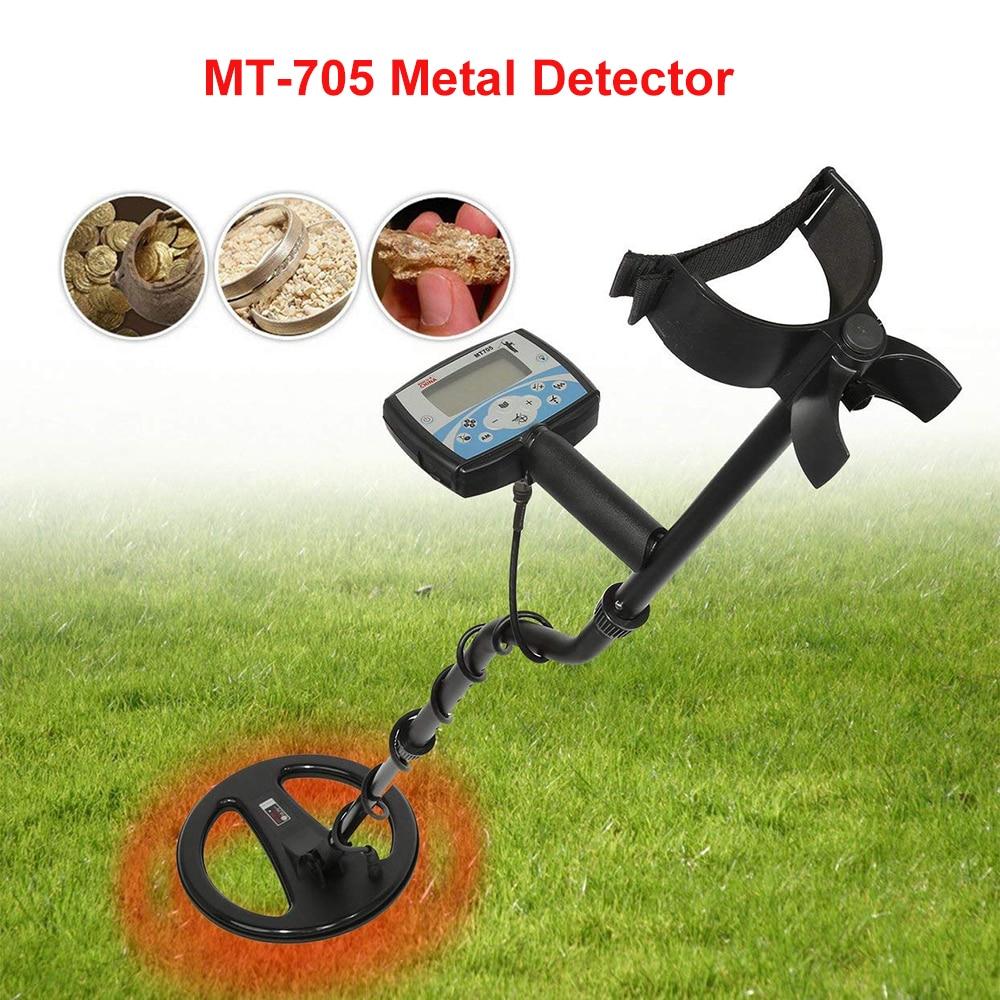 Professional MT705 705 เครื่องตรวจจับโลหะทองใต้ดิน 705 GOLD Digger Treasure Hunter Finder Pinpointer เครื่องตรวจจับ