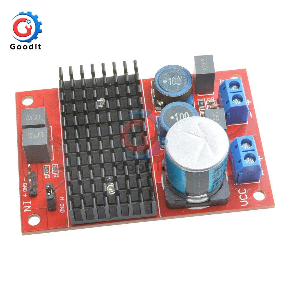 Hot Selling DC 12V-24V Audio Amplifier Board TPA3116 Mono Channel Digital Power Amplifiers Module For Arduino BTL Out 100W