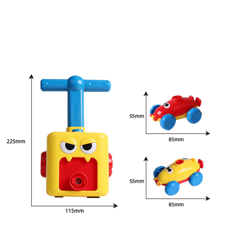 Erőgömbös autós játék Montessori játékok oktatási kísérlet - Modellautók és játékautók - Fénykép 3