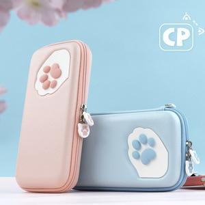 Image 1 - Housse de protection pour smartphone étui de protection pour chat griffe CP sac de rangement NS Silicone coque rigide pour Nintendo Switch Lite accessoires de Console de jeu