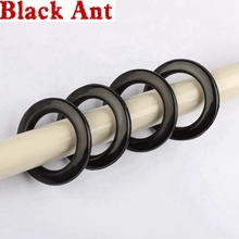 Grommet-Ring Curtain-Accessories Ring-Eyelets Abs-Plastic for Hight-Quality White Black