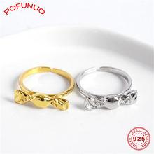 Pofunuo s925 Стерлинговое серебро роскошные персонализированные