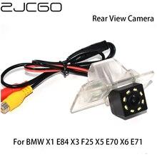 ZJCGO HD CCD Car Rear View Reverse Back Up Parking Night Vision Waterproof Camera for BMW X1 E84 X3 F25 X5 E70 X6 E71 2008~2015