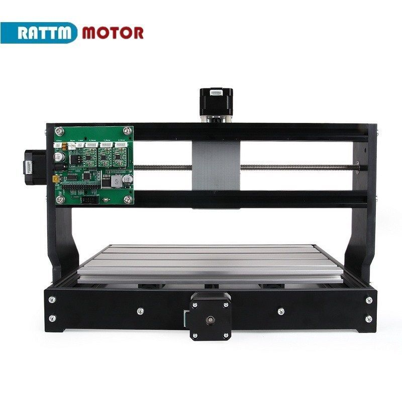 Image 3 - CNC 3018 Pro GRBL Control 3 Axis DIY Mini Machine Pcb Pvc Laser Engraving Milling Machine Wood RouterWoodworking Machinery Parts   -