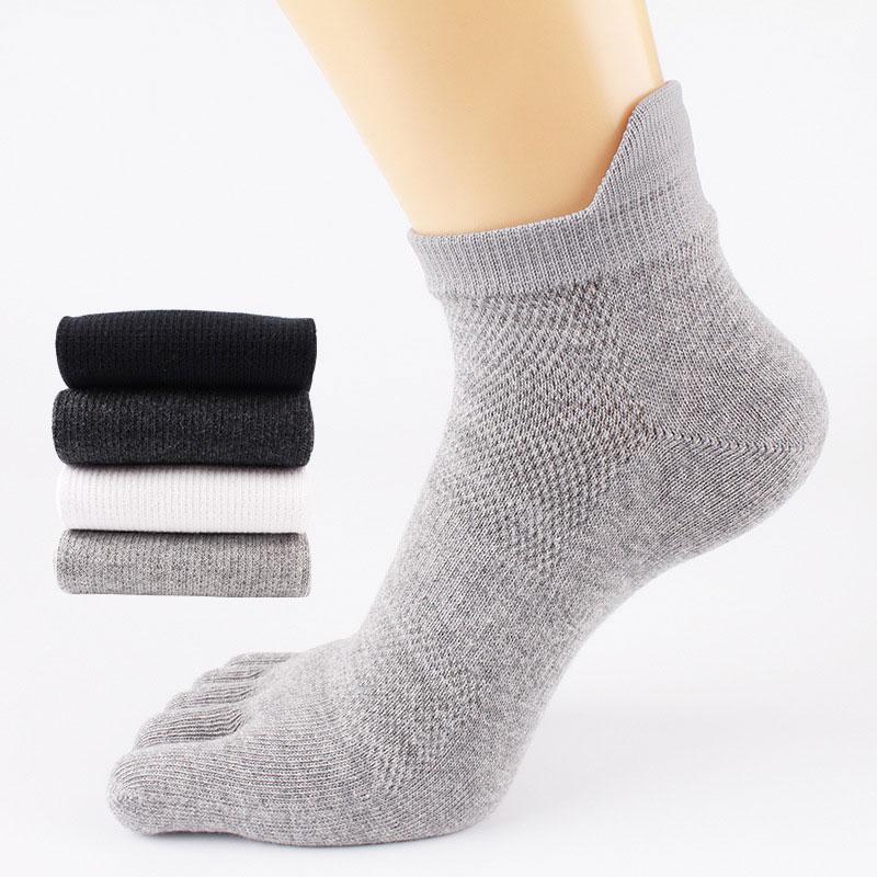 5 Pairs Men Funny Socks Five Fingers Separate Toe Socks Comfortable Gifts For Men Calcetines Hombre Calcetines Hombre New
