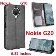 Wallet PU Leather For Nokia G10 G20 Case Magnetic Book Stand Flip Card Protective Cover