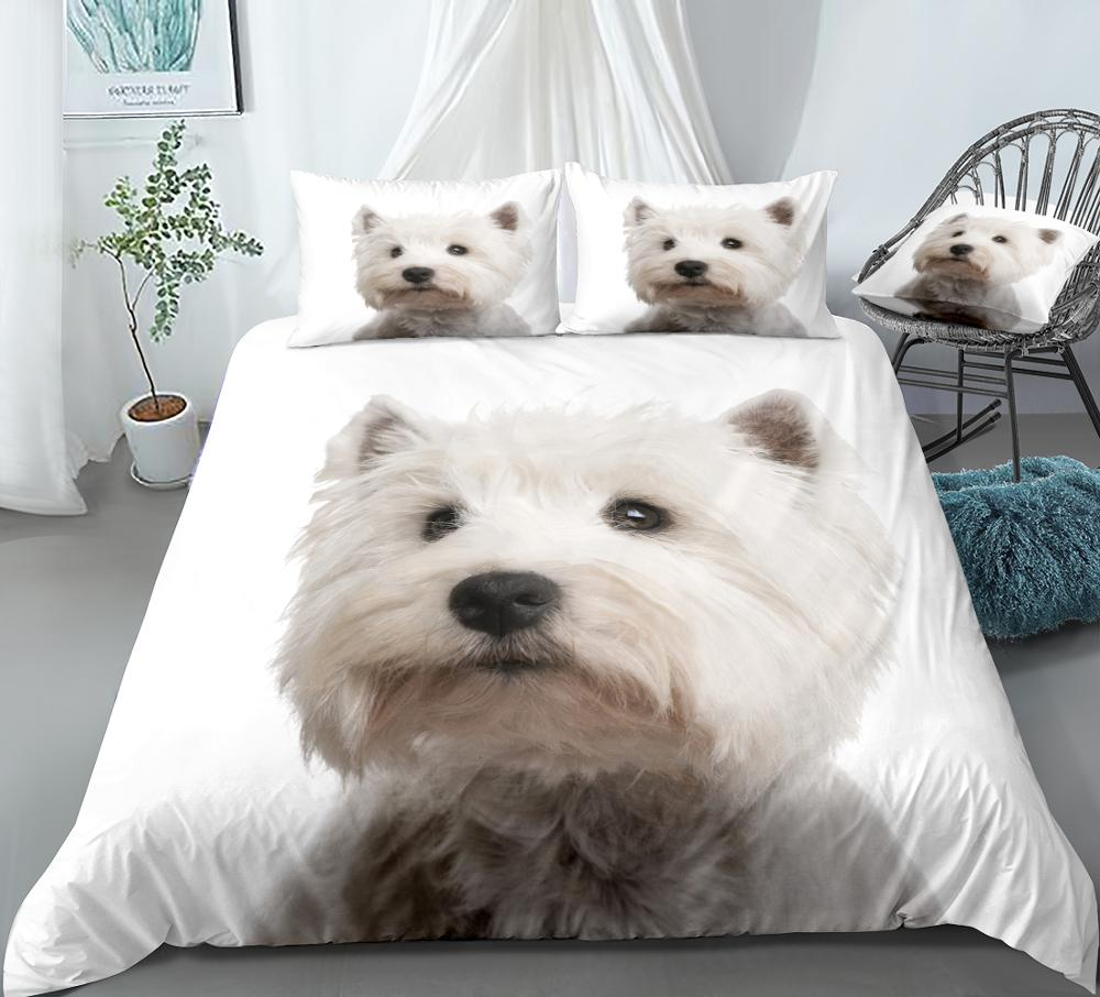 3D Effect Photo Cat Dog Print Duvet Quilt Cover Pillowcase 100/% Cotton SingleUK