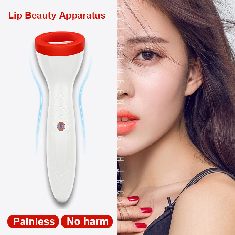 Silicone Lip Plumper Device Electric Fuller Lips Enhancer Plump Sexy Labios USB Rechargeable Automatic Lip Plumper For Women