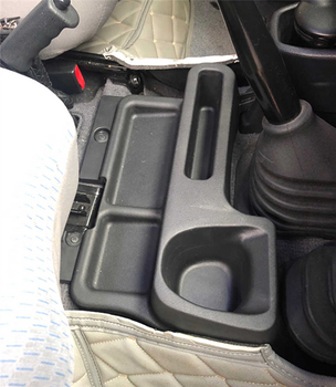 For Toyota Land Cruiser LC70 LC71 LC76 LC77 LC78 LC79 ABS Armrest Storage Box Tray Insert Center console Box  Car styling 1