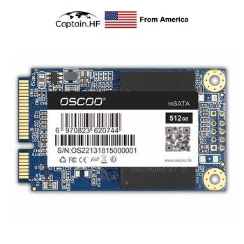 цена на US Captain SSD mSATA SSD Solid State Disk 64GB 128GB 256GB 512GB MSATA Internal Solid State Hard Drive For Desktop