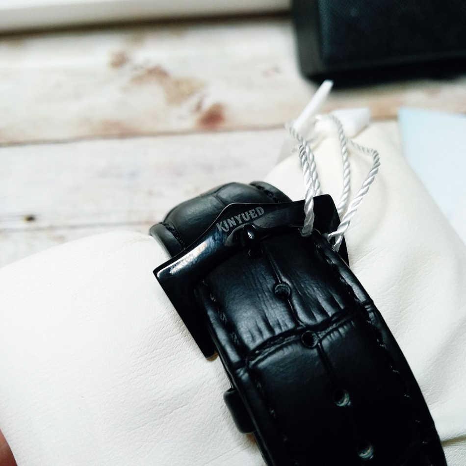 Relogio mecanico KINYUED otomatik mekanik İzle erkekler Tourbillon İskelet Heren Horlogerelogio mecanico relojes automaticos
