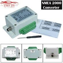 9-32V DC NMEA2000 Converter Box Convert Sensor Singal to NMEA2000 IP67 Waterproof for Boat Yacht Waterproof