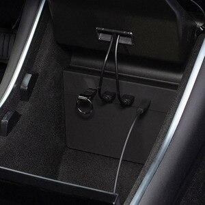 Image 5 - สำหรับ Tesla รุ่น3ชาร์จไร้สาย Pad USB Hub 5/6พอร์ต SSD Disk Sticks คอนโซลกลางชุดหน่วยความจำอุปกรณ์จัดเก็บข้อมูล tesla