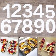 Для домашних животных на возраст от 0 до 8 цифр торт пресс-форма для тортов декоративные инструменты Кондитерская чайник торт ко дню рождения дизайн формы для выпечки инструменты для выпечки 4/6/8/10/12/14 дюймов