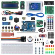 Yeni RFID başlangıç kiti Arduino UNO için R3 perakende kutusu ile yükseltilmiş sürüm öğrenme paketi elektronik DIY kiti