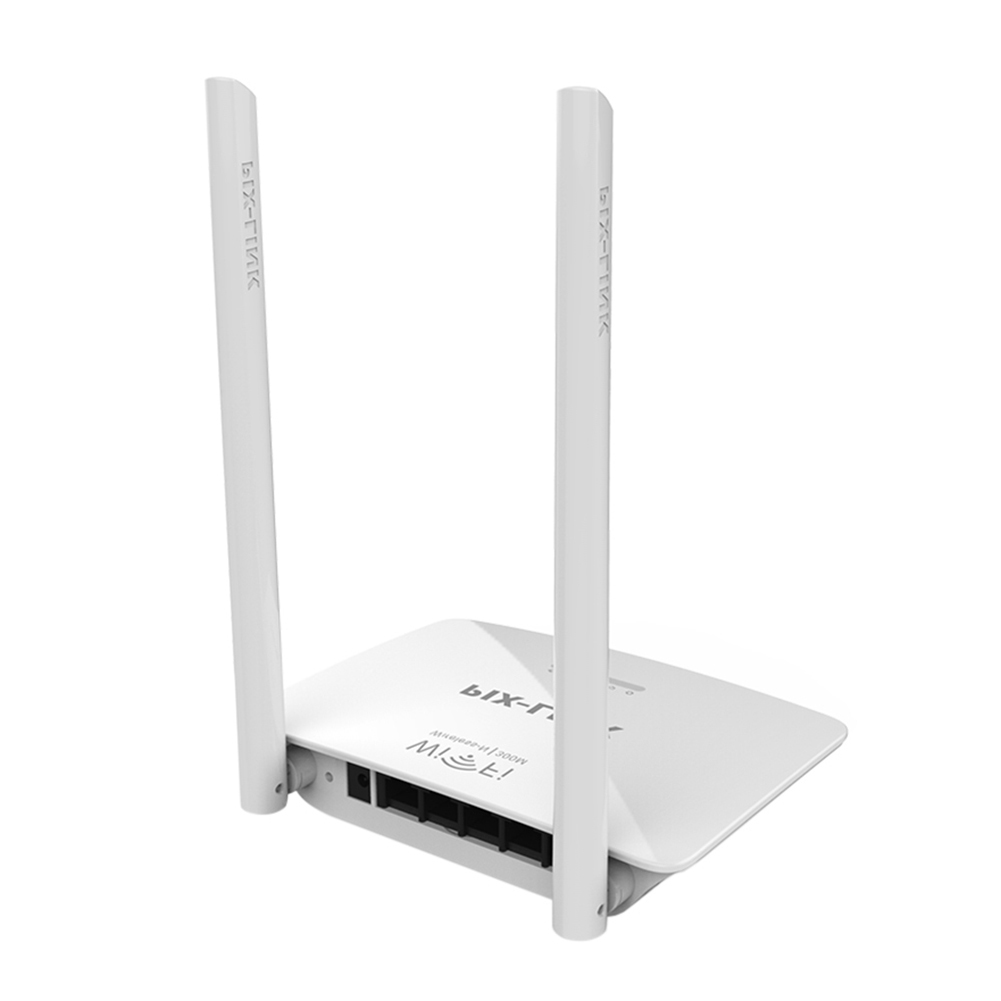 1pcs 300Mbps Wireless Router Dual Antenna Wifi Repeater USB 2.4G Network Router Extender Antenna Wifi Repitidor for Office Home