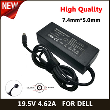 19.5V 4.62A 90W Laptop AC Adapter DC Charger For DELL E4300 E4310 E5400 E5410 E5420 E5500 1420 1501 1521 1525 D400 Inspiron 14R brand new for dell inspiron 1501 1520 1525 1526 1545 laptop notebook ac dc power jack socket connector free shipping