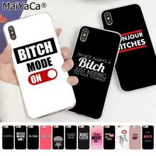 MaiYaCa I'M NOT ALWAYS A BITCH Bonjour Bitches Silicone TPU Phone Cover for Apple iphone 11 pro 8 7 66S Plus X XS MAX 5S SE XR(China)