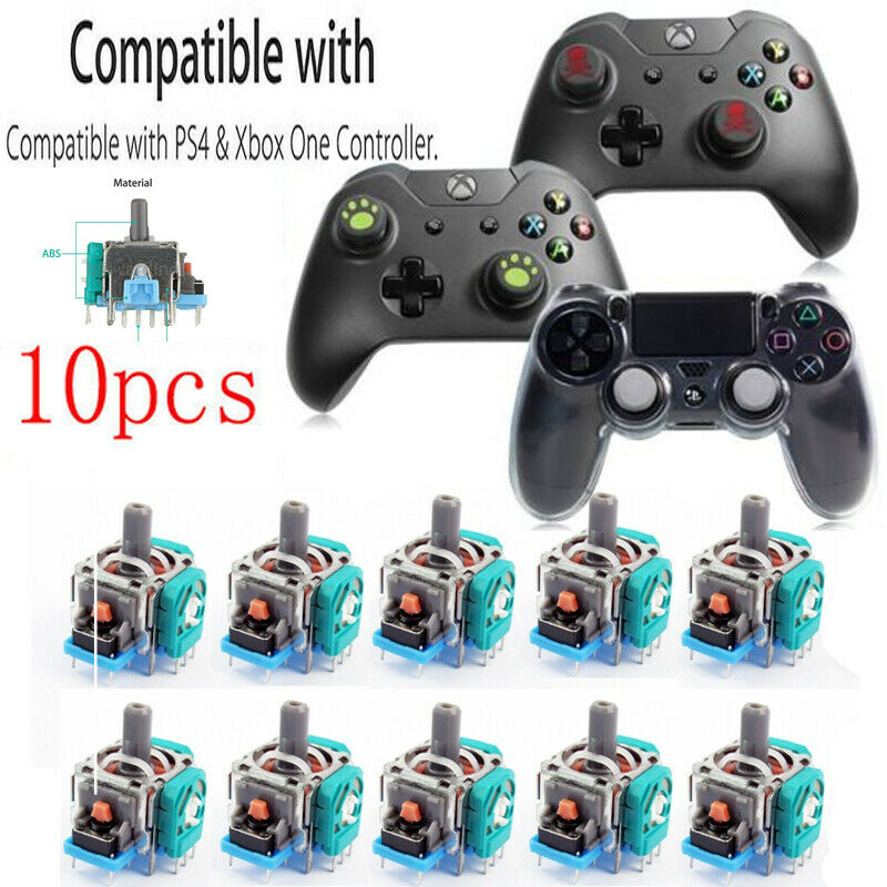 10x Replacement Controller Joystick Axis Analog Sensor Module For Xbox One PS4