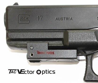 mão ponto vermelho laser vista com tecelão