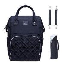 Новая стильная конопляная хлопковая модная водонепроницаемая сумка для подгузников MOTHER'S Bag Рюкзак с надписью MOM подгузники пакеты пеленки сумка