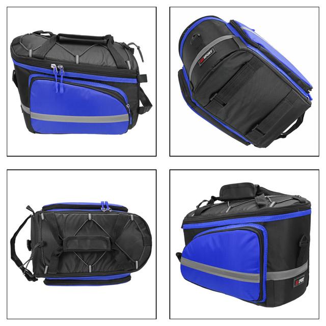 Large Capacity Bicycle Carrier Bag Rear Rack
