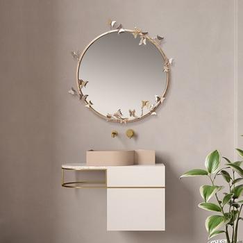 New Modern Resin Embossed Butterfly Mirror  2