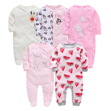 Honeyzone Baby Overalls Baby Mädchen Baumwolle Nette Strampler Outfits Infant langarm Casual Schöne Strampler 0-12Months Pyjamas bebe(China)