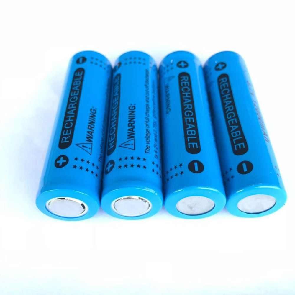 ICR18650 2/4/8/12/16/20 Pin Lithium 3.7V 12000 MAh Sạc pin Lithium Đèn Pin Kèm Pin Tế Bào