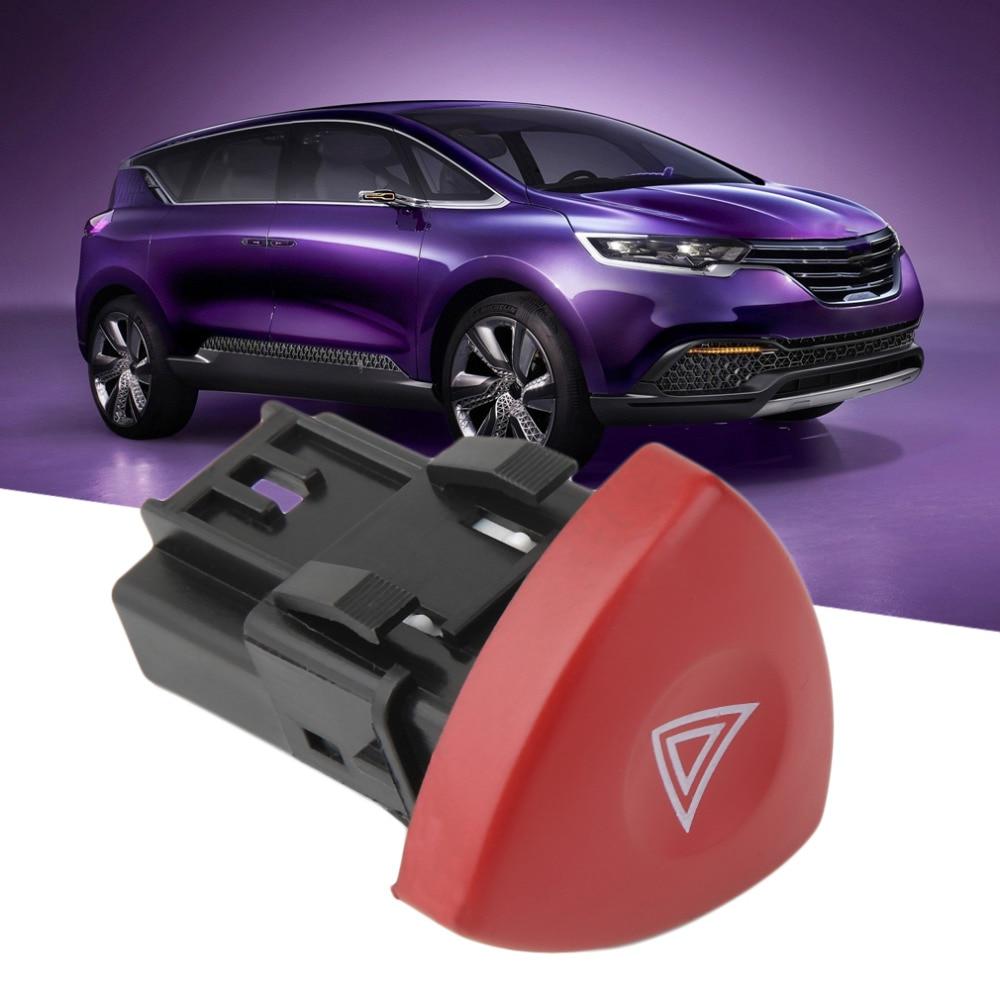 #N//V Interruptor de luz de advertencia de emergencia para intermitentes de peligro para Renault Laguna Master Trafic II Vauxhall 01-14