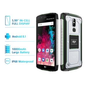 "Image 2 - הגלובלי גרסה HOMTOM מכירה Z11 אנדרואיד 8.1 נייד טלפון IP68 5.99 ""MTK6750T 10000mAh גדול סוללה 4GB RAM 64GB ROM Smartphone"