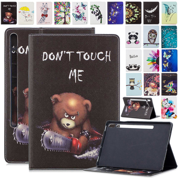 Tablet Funda Cover for Samsung Galaxy Tab S7 11 2020 Case T870 T875 Slim Shockproof Stand Case Card Slot Wallet Tablet Cover