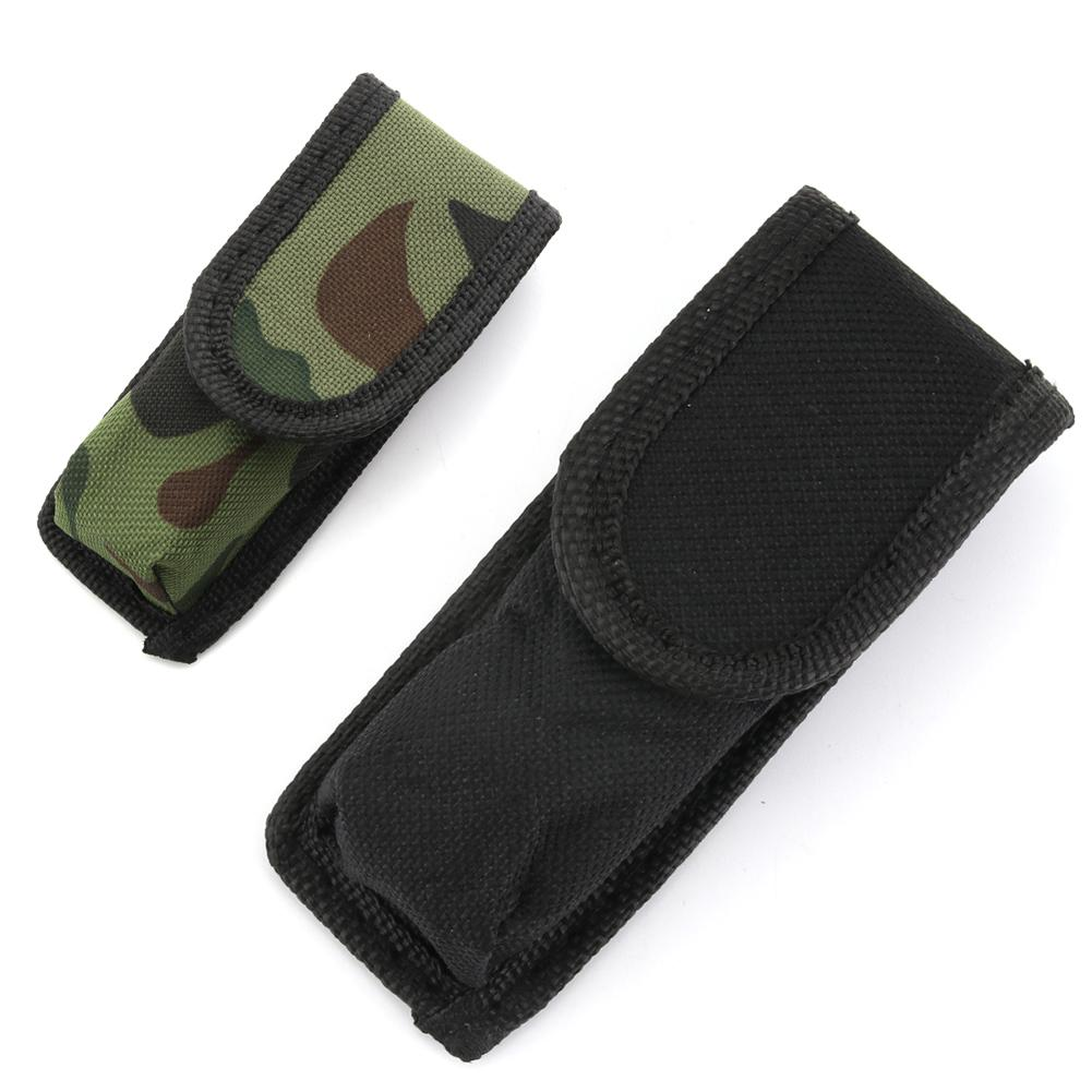 High-Quality Flashlight Bag Nylon Holster Holder Belt Pouch Case Bag For SK68 Flashlight Mini Torch